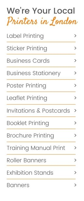 Cheap printing london print services by printpal london cheap printing london creative brochure design and promoting your company reheart Images