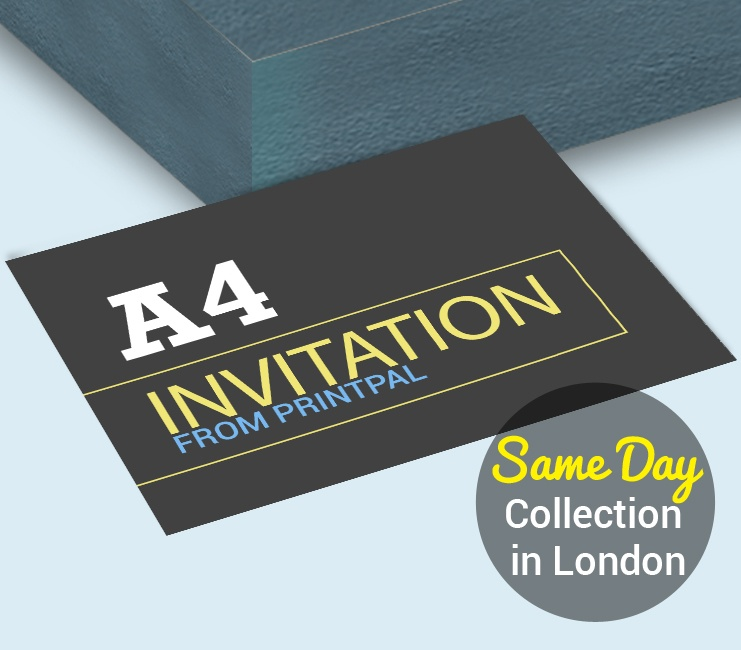 Wedding stationery invitation printing in london from 33 vat want to include all your information in one this would be the perfect option print and fold to create a perfect invite reheart Choice Image