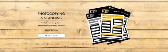 Banner printing printers in london presentation folders document printing photocopyingslider1 reheart Gallery