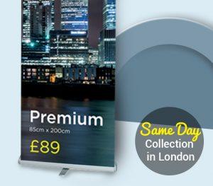 Premium Roller Banner Printing in London