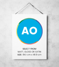A0 Poster Printing in London