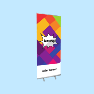 roller banner printing