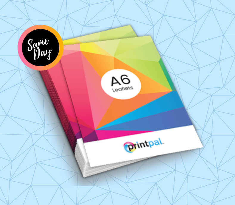 A6 flyer printing london
