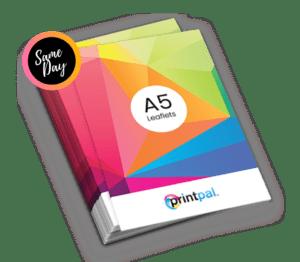 A5 size Leaflet & Flyer Printing