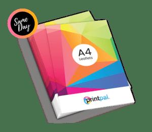 A4 size Leaflet & Flyer Printing