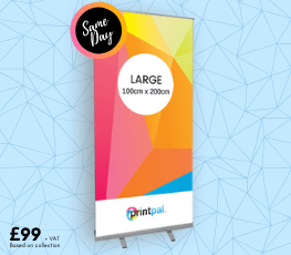 Large Roller Banner Printing